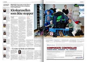 Faksimile Bergens Tidende 18. januar 2014